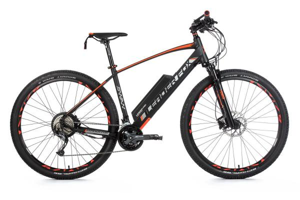 Mountain bike SWAN 29, frame 19,5, black matt / orange