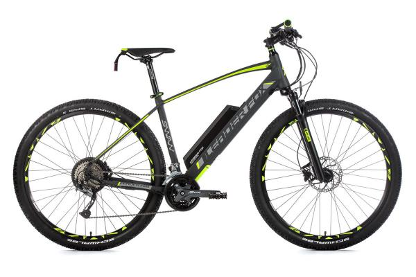 Mountain bike SWAN 29, frame 17,5, gray matt / green